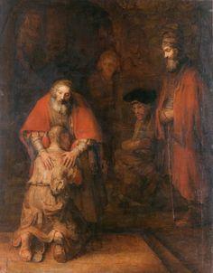 Rembrandt Harmensz. van Rijn - De terugkeer van de verloren zoon