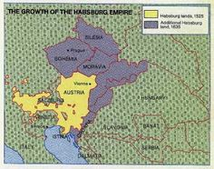 habsburg empire | Growth of Habsburg Empire 1525-1635