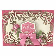 Anna Griffin Flip Card Die | Cards I Like 6 on Pinterest | Anna Griffin, Paper Smooches and Stamp ...