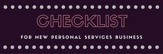 Check out this new business checklist for personal services in Saskatchewan.