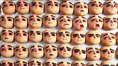 Laika Uses Thousands Of 3D-Printed Faces For Their New Animated Feature ParaNorman | The Creators Project
