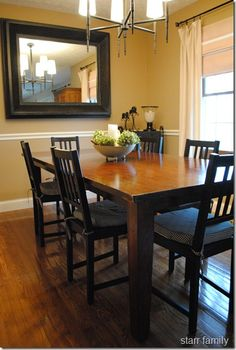 Sherwin Williams Latte - mirror for dining room