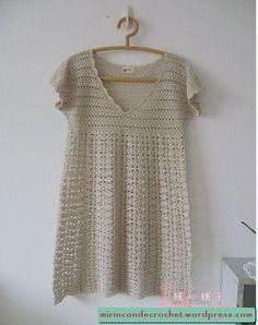 New crochet patterns for women tunics love ideas Moda Crochet, Crochet Cardigan, Crochet Lace, Free Crochet, Crochet Sweaters, Crochet Tops, Crochet Woman, Crochet Fashion, Crochet For Kids