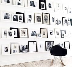 Great photography wall