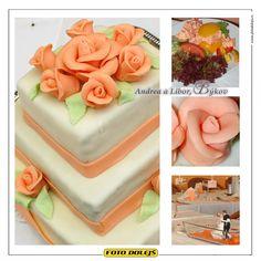 Andrea a Libor, svatební dort, Bykov