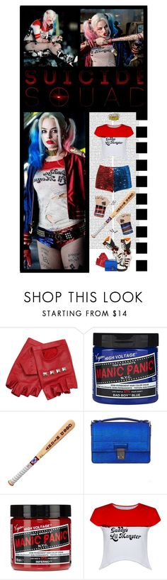 """""""Harley Quinn // Dr. Harleen Quinzel"""" by irresistible-livingdeadgirl ❤ liked on Polyvore featuring ASOS, 3.1 Phillip Lim, adidas, manicpanic, JeremyScott, hottopic, philliplim, emo, goth and harleyquinn"""