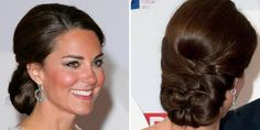 Kate Middleton's updo is perfect for any bride. Photo: Indigo/Getty images, Reimschuessel /Splash News/Corbis