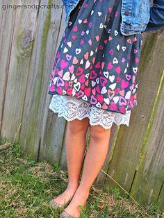 slip extender - makes too-short skirts and dresses more modest
