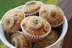 Peanut Butter-Banana Muffins.
