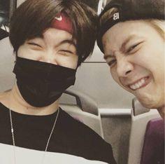 GOT7 2015 Choi youngjae and Jackson Wang