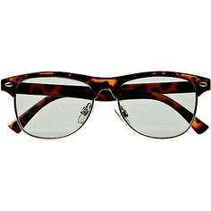 Boys tortoise shell half frame sunglasses - sunglasses - accessories