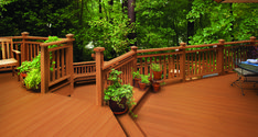 BEHR DECKOVER Solid Color Coating Deck (This is redwood natural tone shade)