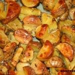 Nigella's Italiaanse aardappeltjes uit de oven