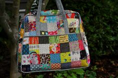 Patchwork Quilted Weekender by Lucy & Norman, via Flickr