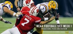 2016 NCAA Football Week One – SEC Predictions, Picks and Preview