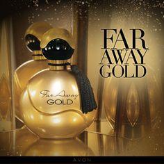 """Llega el glamuroso aroma de  """"Far Away""""  conquistando a millones de mujeres. #Avon #FarAwayGold"""