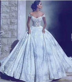 Beautiful Princess Wedding Dress Ideas For Perfect Bride Dream Wedding Dresses, Bridal Dresses, Wedding Gowns, Prom Dresses, Princess Ballgown Wedding Dress, Lace Wedding, Bridesmaid Dresses, Princess Wedding Dresses, Evening Dresses