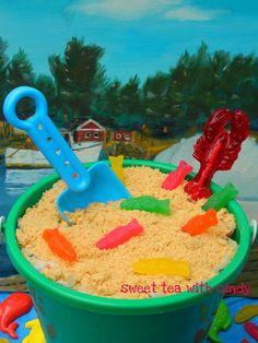 Sea Island Sand Cake Recipe -
