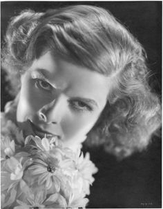 Katharine Hepburn oversize gallery portrait by Ernest A. Bachrach. Silver bromide matte double-weight 11 x 14 in. master print (ca. 1933). From the personal collection of the photographer.