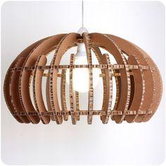 lampara cardboard furniture - Buscar con Google