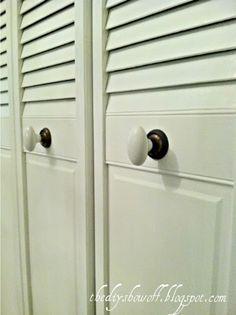 DIY Project Parade: Closet Doors - How to Turn BiFold Doors into French Doors | DIY Show Off ™ - DIY Decorating and Home Improvement Blog