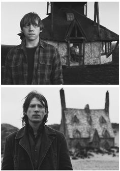 Weasley boy on black and white asewome :3