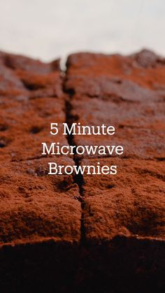Fun Baking Recipes, Microwave Recipes, Sweet Recipes, Dessert Recipes, Cooking Recipes, Simply Recipes, Brownie Recipes, Chocolate Recipes, Microwave Brownie