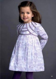 Vestidos para niñas Neck & Neck invierno 2014