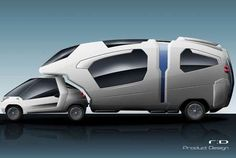 67 Futuristic Takes on Portable Homes - From Modular Motor Homes to Canine Caravans (CLUSTER)