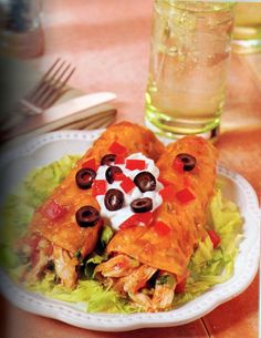 Mom's Chicken Enchiladas Recipe from Eating for Life - Bill Phillips