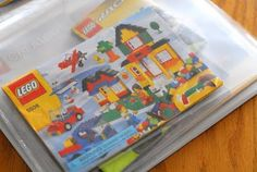 Must remember this.  Binder for Lego Instructions.