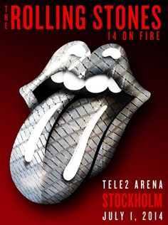 The Rolling Stones - 14 On Fire Tour - Stockholm - Sweden