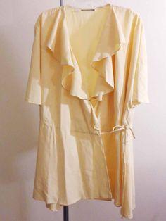 Artist lagenlook jacket artsy art to wear victorian maiden magnolia sz 1X #Unbranded #BasicJacket
