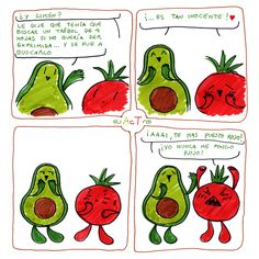 ~ AcT ~ 10 #aguacatecontomate #aguacate #tomate #limon #comic #humor