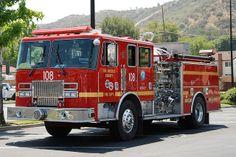 Los Angeles Fire Department  (LACoFD) Engine  #Setcom