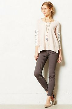 Pilcro Serif Moto Leggings #anthropologie #anthrofave