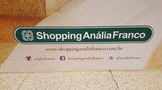 """26 January 2017 (13:35) / Shopping Anália Franco, Tatuapé, São Paulo City. """"Referência em moda, estilo e sofisticação na Zona Leste de São Paulo."""""""