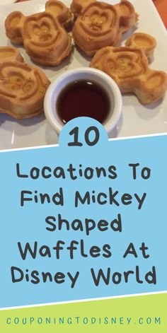 10 Locations To Find Mickey Shaped Waffles At Disney World Disney World Food, Disney World Restaurants, Disney World Planning, Walt Disney World Vacations, Breakfast Menu, Breakfast Items, Whispering Canyon Cafe, Disney Dining Plan, Disney World Tips And Tricks