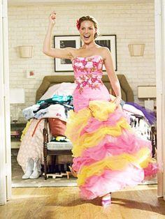 wacky bridesmaid dresses