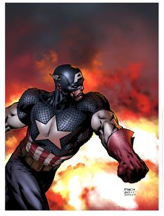 Captain America by David Finch