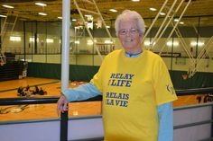 #Mary Morrison has been free of cancer for 37 years and was celebrating at the Relay for Life at UPEI - The Guardian: The Guardian Mary…