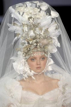 lily cole for christian lacroix '07