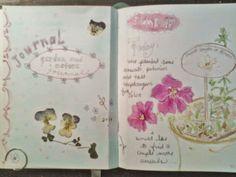 art journals / sketchbook. Jenni. The Painted Flower:  garden and nature sketchbook