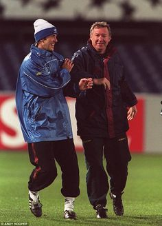 Beckham will be managed by Sir Alex Ferguson for the first time since leaving Manchester United in 2003