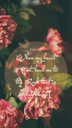 the Rock | Psalm 61:2
