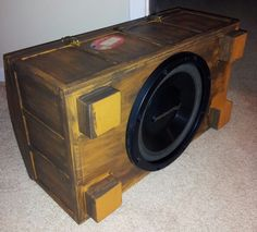 Trunk sub speaker box pic 2.