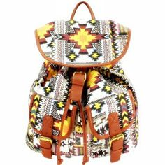 ZYLC Bohemian Vintage Canvas Backpack