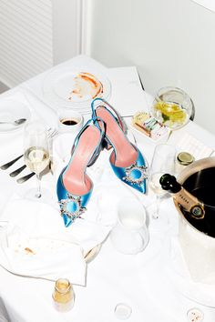 Read more about Getting Dressed With Amina Muaddi and discover the latest fashion news from Browns Fashion. Dr Shoes, Shoes Heels, Shoes Editorial, Aesthetic Shoes, Glass Slipper, Brown Fashion, Luxury Shoes, Shoe Game, Shoe Collection