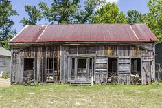 Old Workshop Near Marshall Texas