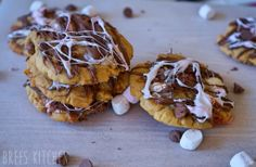 Chocolate Chip and Marshmallow Cookies